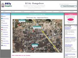 Electronic City Map